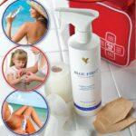 Forever AloeVera spray er en uundværlig spray til solskoldning, brandsår, rifter, hudafskrabninger, insektbid og meget mere.