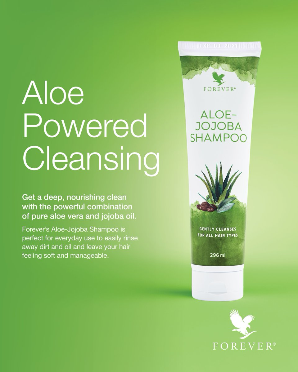 Aloe-Jojoba Shampoo Forever