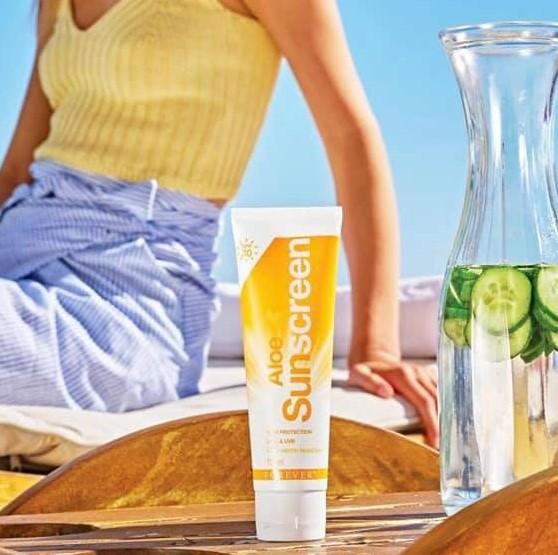 Aloe Sunscreen solcreme fra Forever