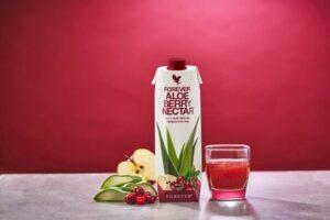 Få hver 10. gratis af Forever Aloe Berry Nectar.