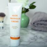 Forever Aloe Vera Propolis Creme til al tør og irriteret hud på kroppen.