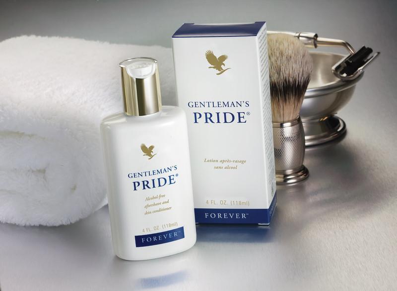 Gentlemans Pride er en aftershave-lotion til mænd
