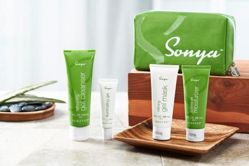 Sonya Daily Skincare System Sæt