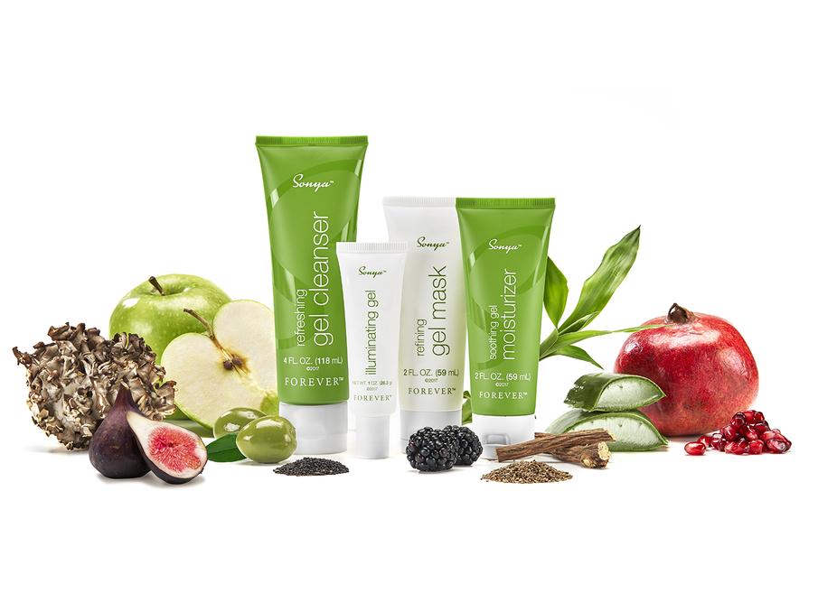 Sonya Daily Skincare System fra Forever Living Producte