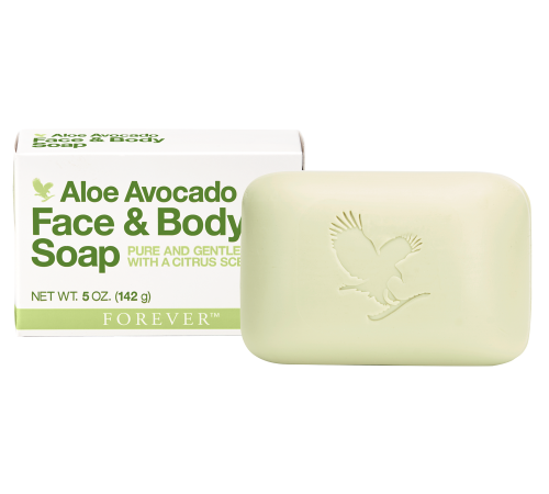 Aloe Avocado Face & Body Soap Forever, klassisk sæbe med uimodståelig citrusduft