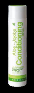 Aloe-Jojoba Conditioning Rinse Forever, balsam til slidt og farvet hår, skæl, kløende hovedbund, tørt hår, filtret og kruset hår