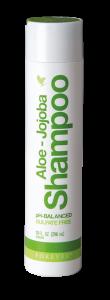 Aloe-Jojoba Shampoo Forever, til tørt hår, sidt og farvet hår, skæl, kløende hovedbund, filtret hår