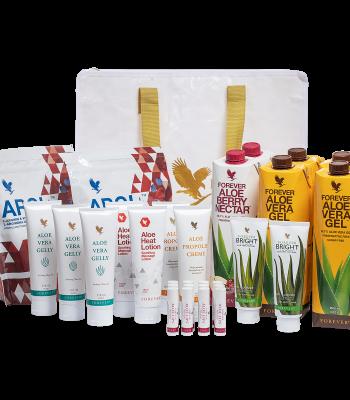 Forhandler start pakke af Aloe Vera Forever produkter