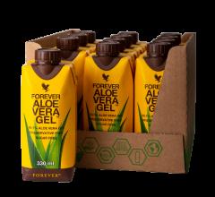 12 pakning Forever Aloe Vera Drikke Gel kosttilskud