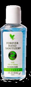 Forever Hand Sanitizer, hånd desinfektion i geléform med vidunderlig duft af lavendel
