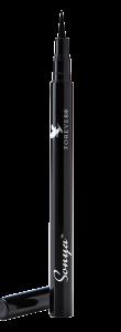 Sonya Precision Liquid Eyeliner Forever, kulsort og ultra tynd pensel