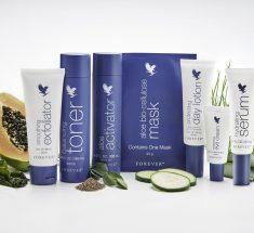 Forever Targeted Skincare hudplejeserie med målrettede produkter