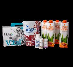 Kosttilskud boks Vital5 Aloe Peaches