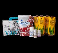 Kosttilskud boks Vital5 Aloe Vera Gel